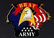 Army Brat sticker image